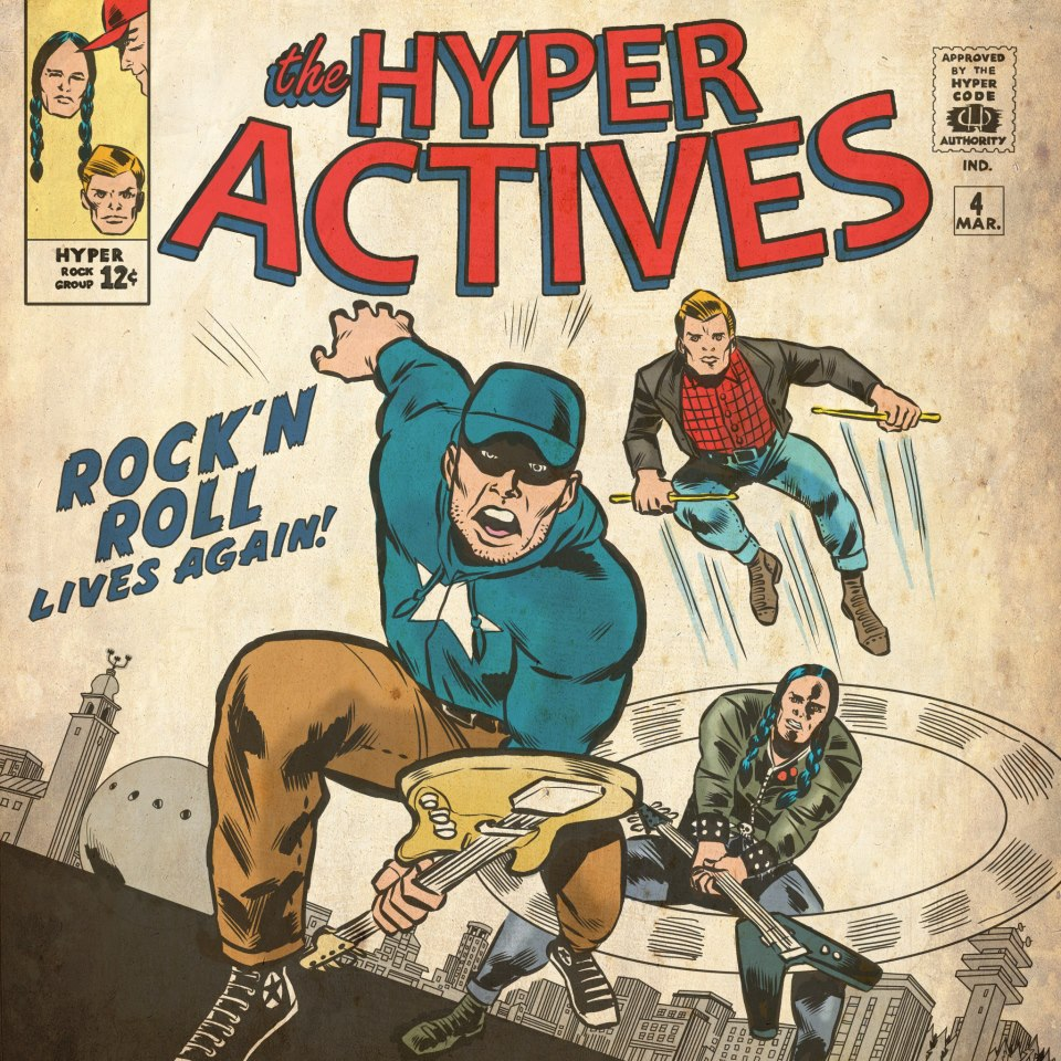 The Hyper Actives album cover